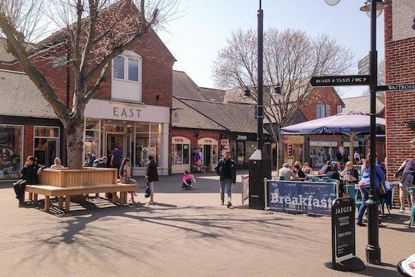 Furlong Shopping Centre outdoor space