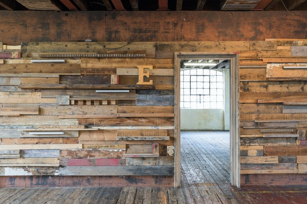 47-49 Tanner Street - The Factory wooden wall
