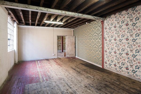 47-49 Tanner Street - The Factory interior wallpaper