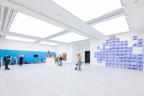 Saatchi Gallery, interior