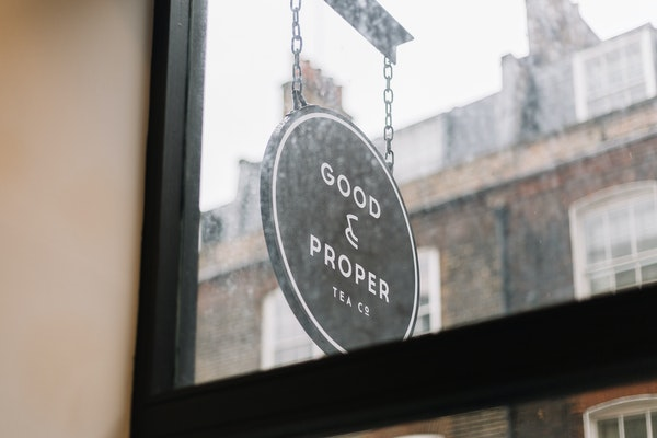 Wall Space, Good & Proper Tea Clerkenwell shop share