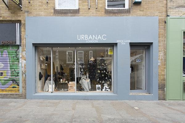 Urbanac, Brick Lane - Right-hand Window Space