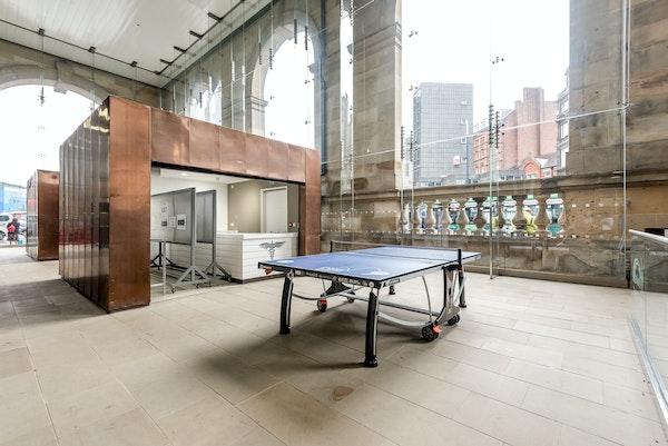 Newcastle Central Station - Kiosk