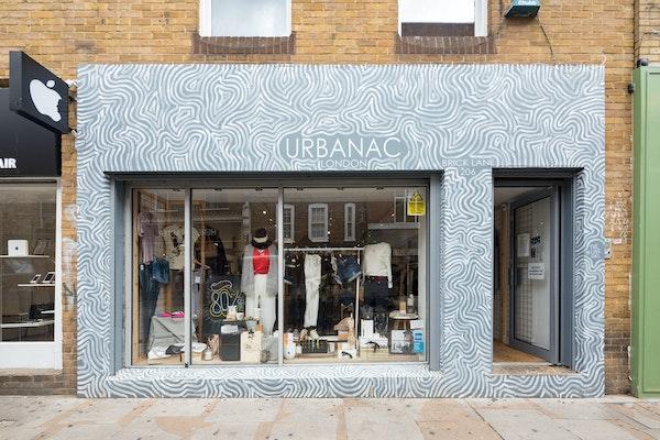 storefront for rent, Brick Lane, London
