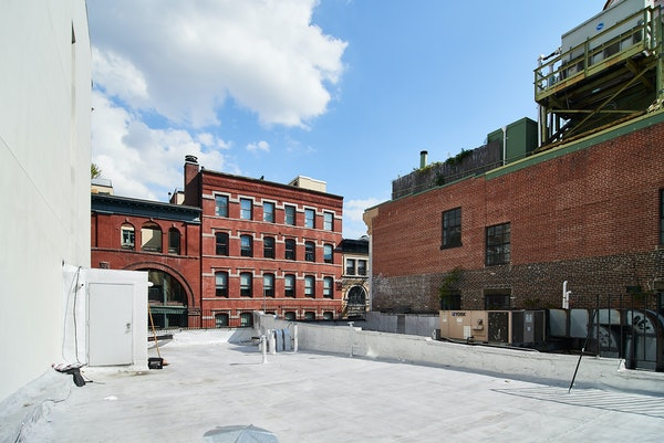 Roof terrace to let Soho