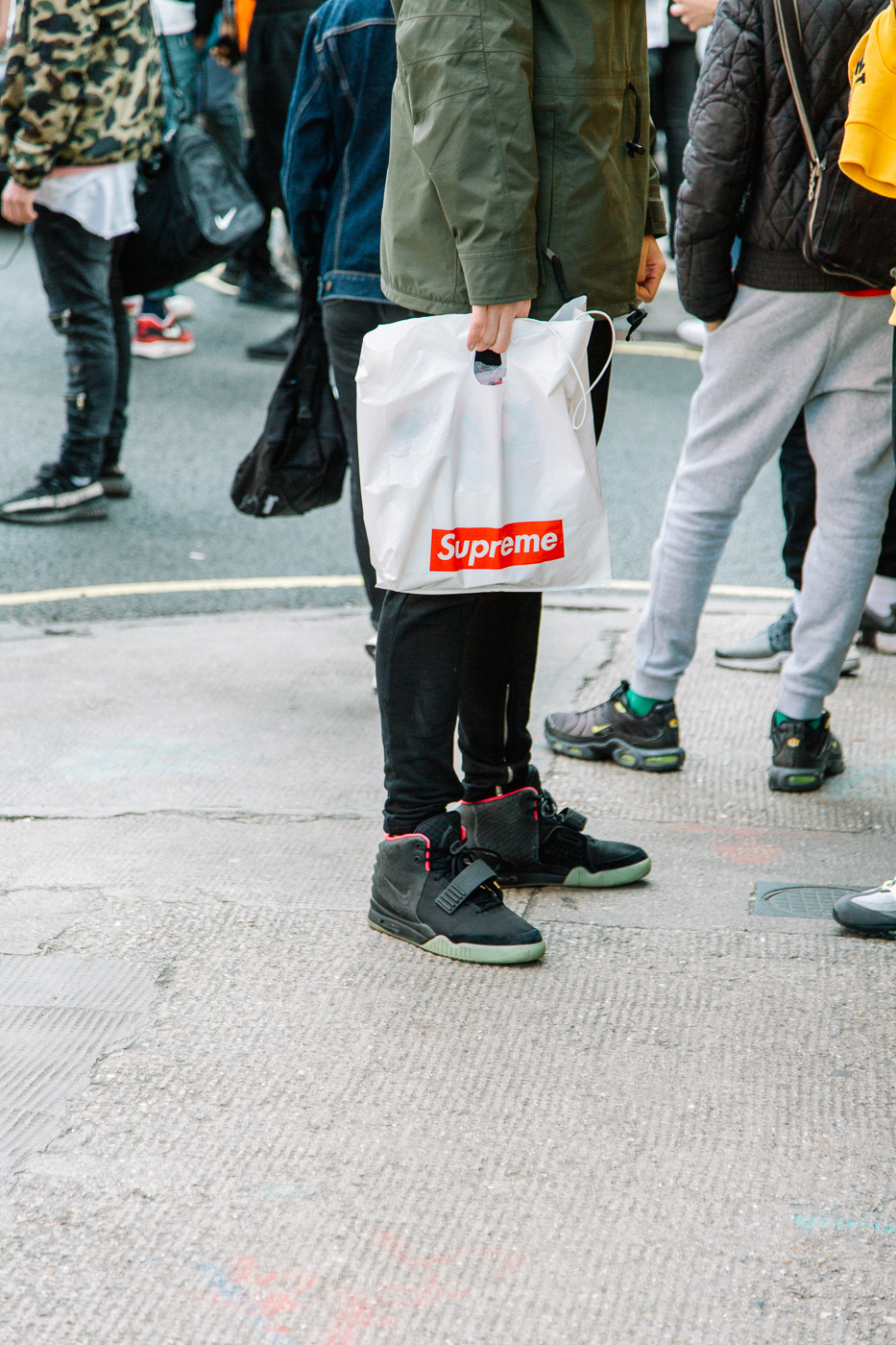 Supreme, pop up, drop, fashion, streetwear
