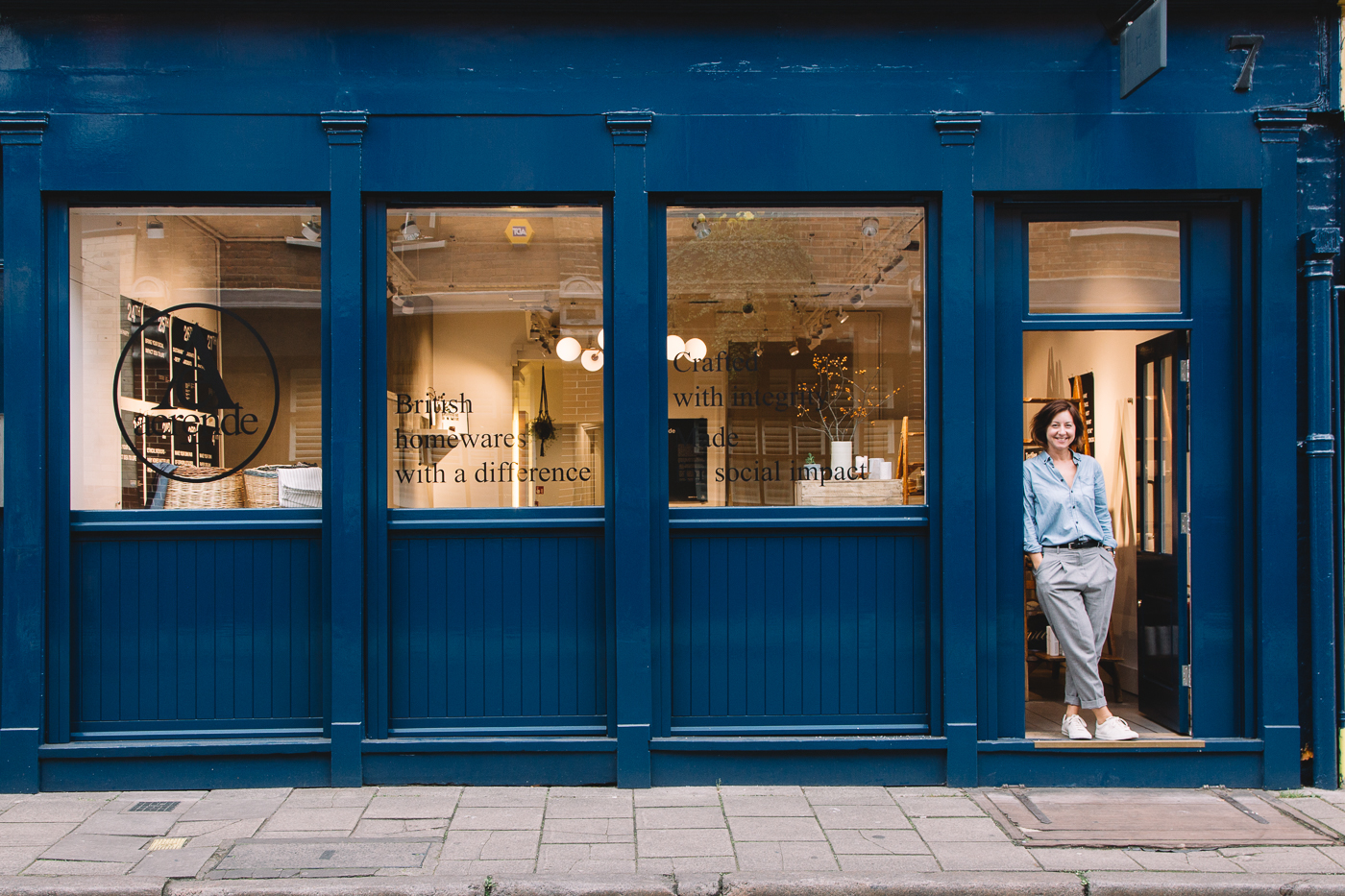 Aerende, space for ideas, competition, appear here, pop up, win your dream shop