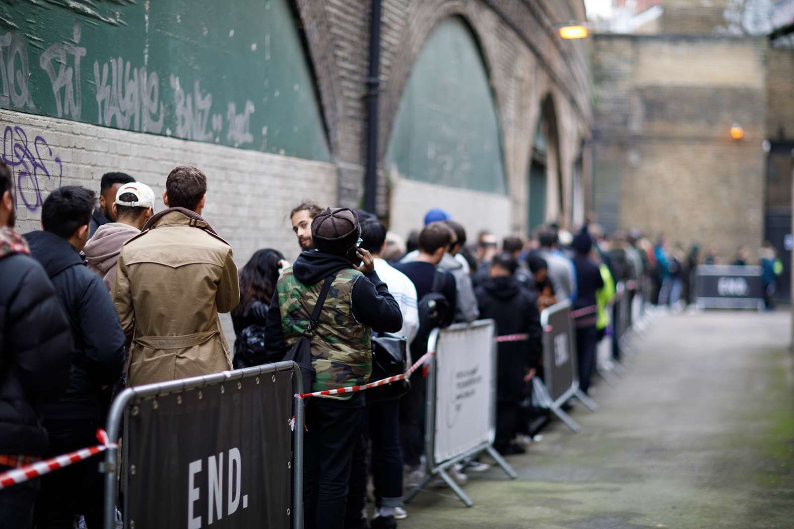 END. THE TEN : Nike X Virgil Abloh London Pop Up Shop