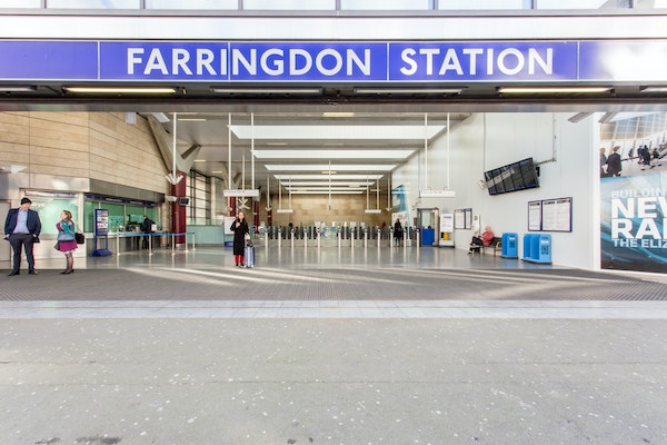 Farringdon Station, Thameslink - Experiential Space