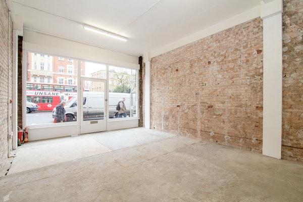 Kensington High Street - White Tiled Shop