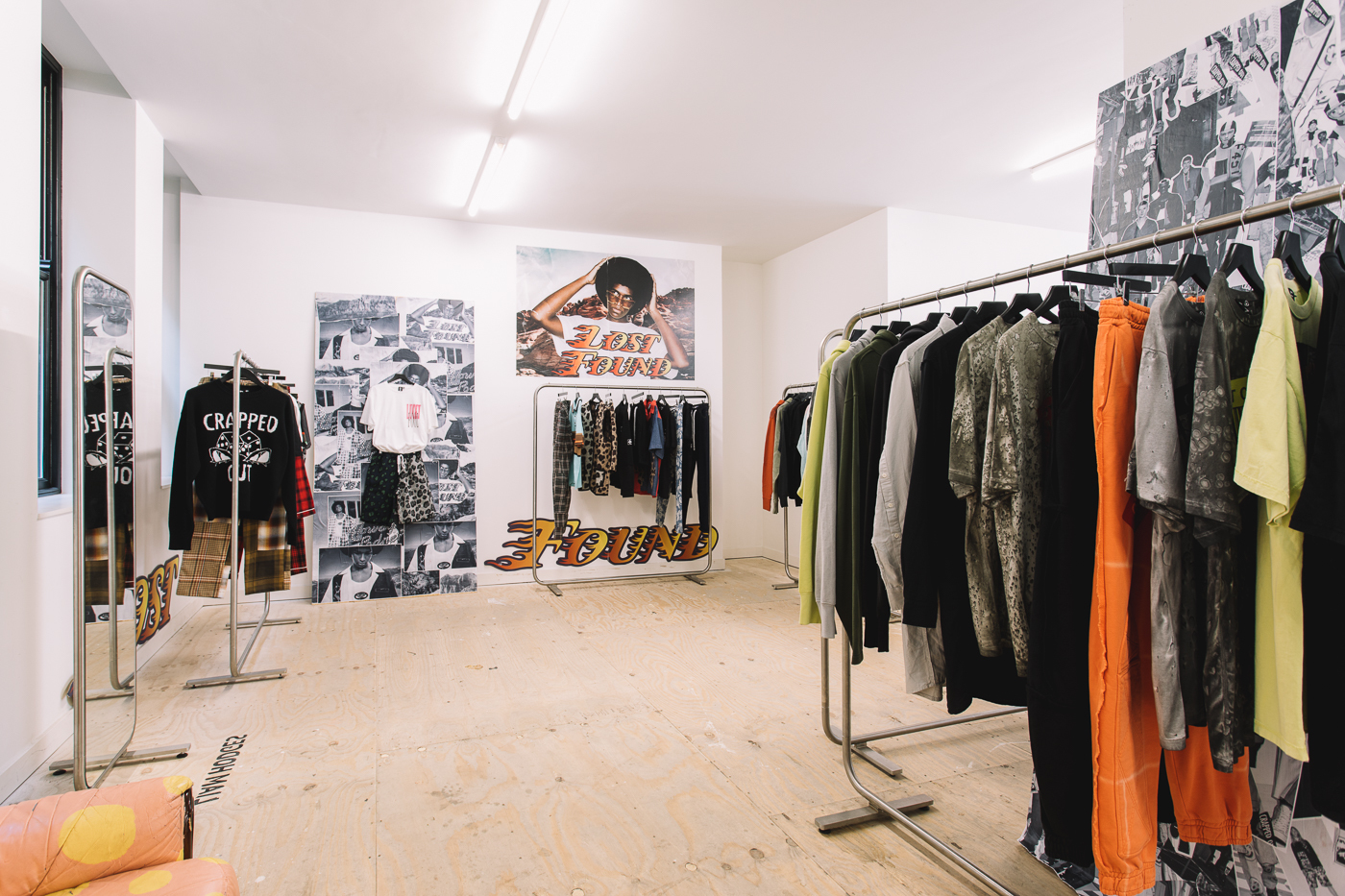 liam hodges, appear here, pop up, space for ideas, free shop, winner, fashion, menswear, streetwear