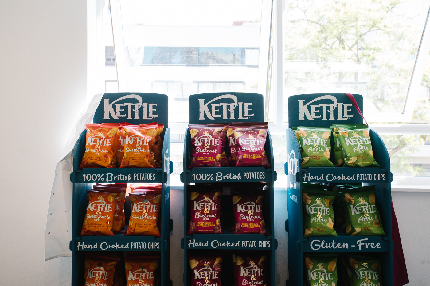 Kettle Chips Pop up