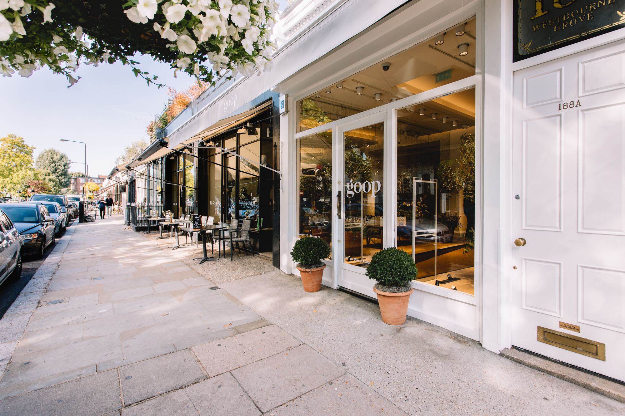 Goop, pop up, how to build a pop up, London pop up, things to see in London, short-term retail,
