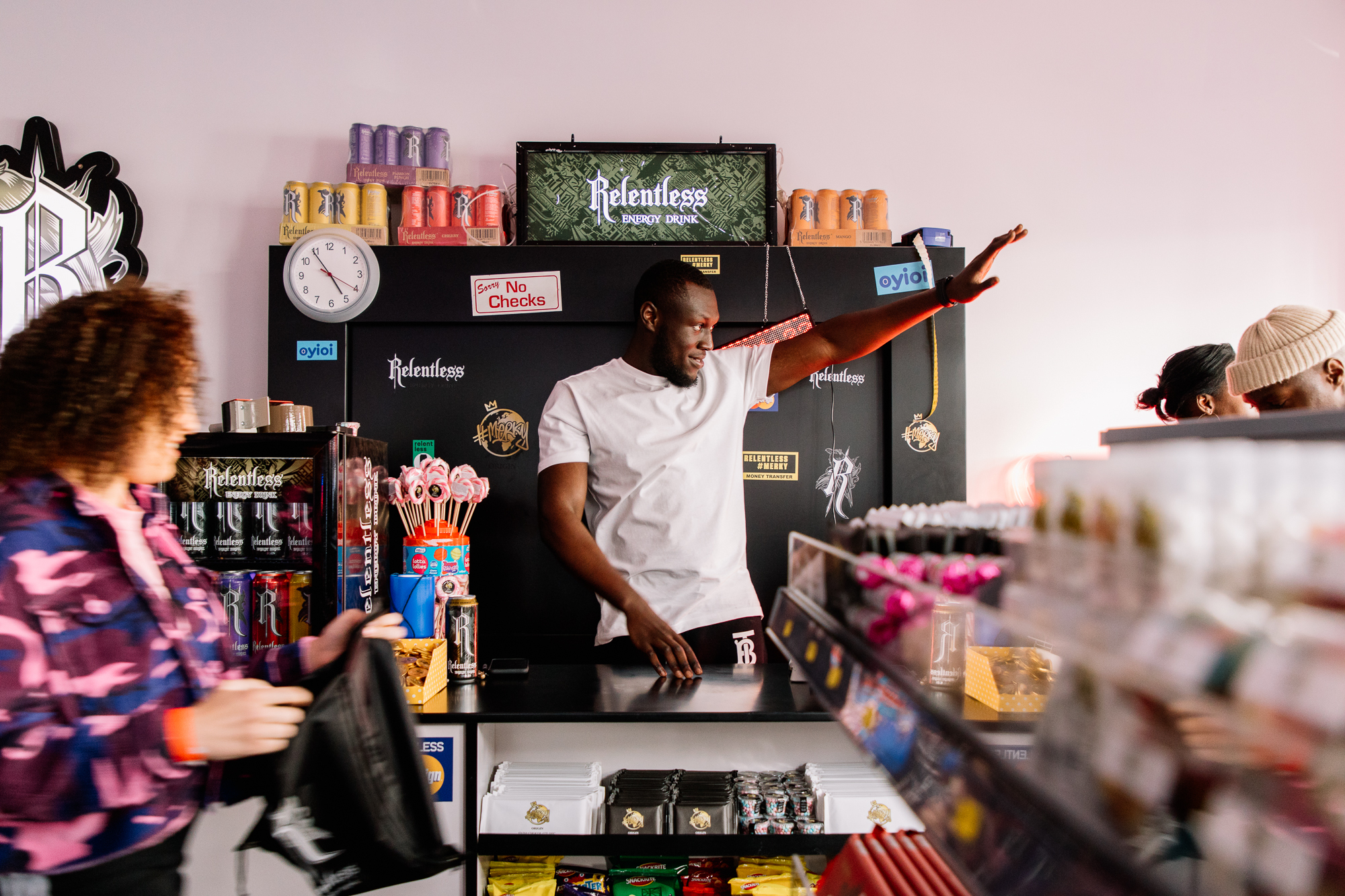 Stormzy, Relentless, pop up, how to build a pop up, London pop up, things to see in London, short-term retail,
