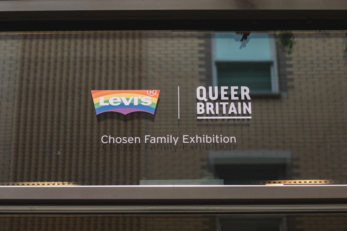 Levis, Queer Britain, pop up, how to build a pop up, London pop up, things to see in London, short-term retail,