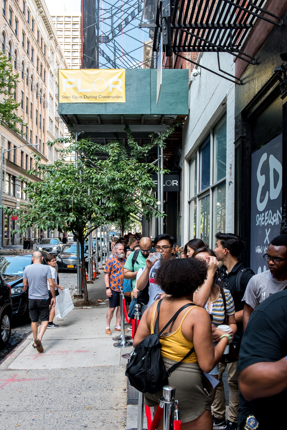 Ed Sheeran, pop up, how to build a pop up, New York pop up, things to see in New York, short-term retail