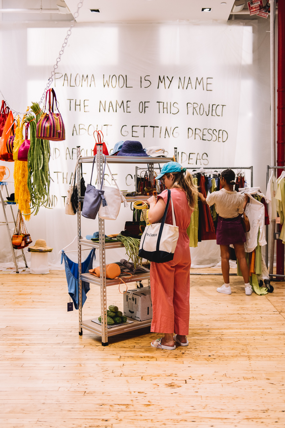 Paloma Wool, pop up, how to build a pop up, New York pop up, things to see in New York, short-term retail
