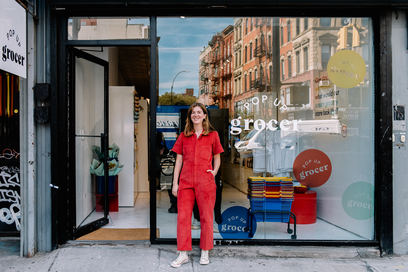 Pop-Up Grocer, pop up, how to build a pop up, London pop up, things to see in London, short-term retail,