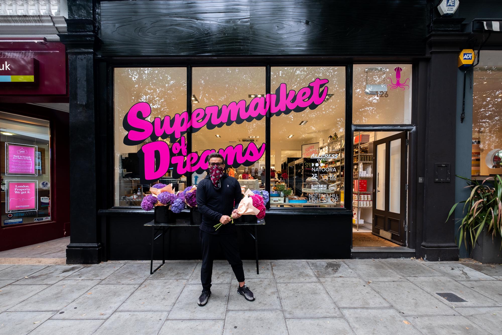 Notting Hill Fish Shop, shop, essential retail, Pop up, Fishmonger, Supermarket of Dreams
